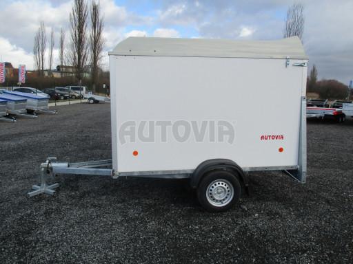 Skříňový vozík s laminátovým víkem ZV 27 N1 O 2,50x1,48/1,65** č.4