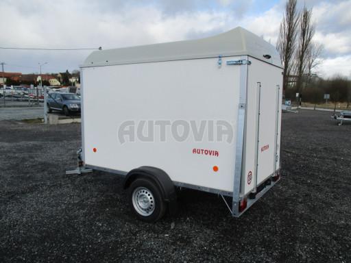 Skříňový vozík s laminátovým víkem ZV 27 N1 O 2,50x1,48/1,65** č.5