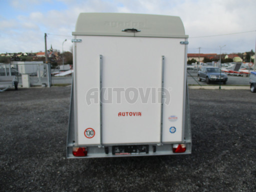 Skříňový vozík s laminátovým víkem ZV 27 N1 O 2,50x1,48/1,65** č.6