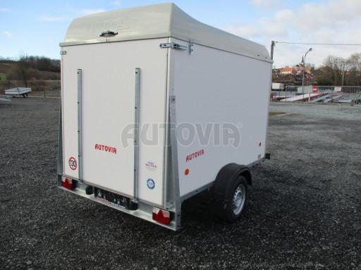 Skříňový vozík s laminátovým víkem ZV 27 N1 O 2,50x1,48/1,65** č.7