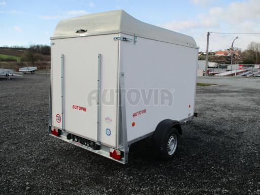 Skříňový vozík s laminátovým víkem ZV 27 N1 O 2,50x1,48/1,65** č.8