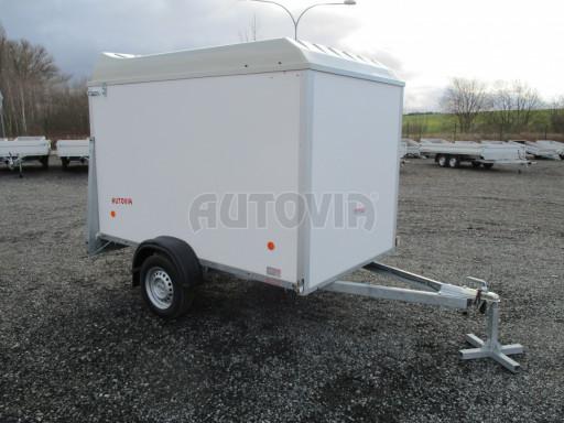 Skříňový vozík s laminátovým víkem ZV 27 N1 O 2,50x1,48/1,65** č.10