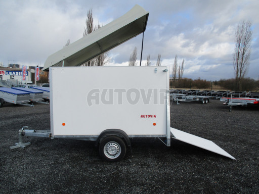Skříňový vozík s laminátovým víkem ZV 27 N1 O 2,50x1,48/1,65** č.11