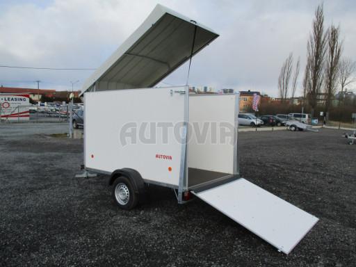 Skříňový vozík s laminátovým víkem ZV 27 N1 O 2,50x1,48/1,65** č.12