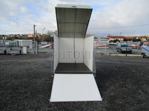 Skříňový vozík s laminátovým víkem ZV 27 N1 O 2,50x1,48/1,65** č.13
