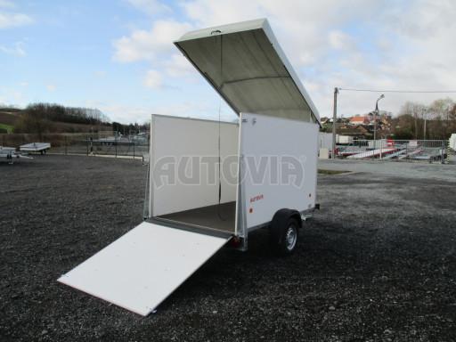 Skříňový vozík s laminátovým víkem ZV 27 N1 O 2,50x1,48/1,65** č.1