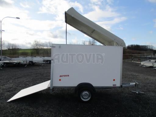 Skříňový vozík s laminátovým víkem ZV 27 N1 O 2,50x1,48/1,65** č.14