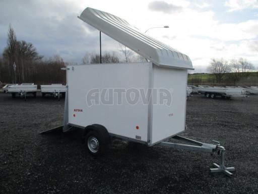 Skříňový vozík s laminátovým víkem ZV 27 N1 O 2,50x1,48/1,65** č.15