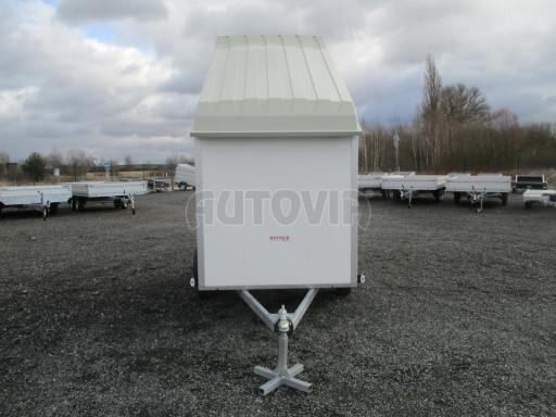 Skříňový vozík s laminátovým víkem ZV 27 N1 O 2,50x1,48/1,65** č.16