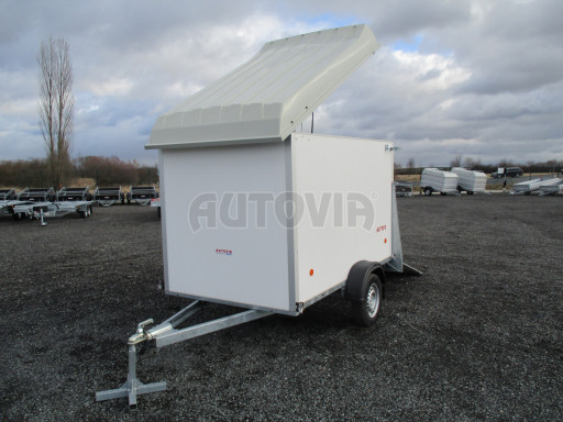 Skříňový vozík s laminátovým víkem ZV 27 N1 O 2,50x1,48/1,65** č.17