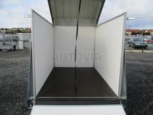 Skříňový vozík s laminátovým víkem ZV 27 N1 O 2,50x1,48/1,65** č.18