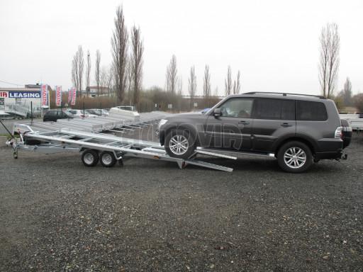 Sklápěcí přívěs pro přepravu aut KAR 47 3,0T 4,70 x 2,015 č.4