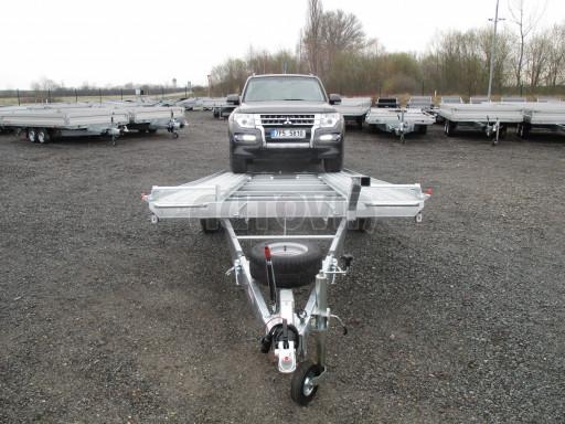 Sklápěcí přívěs pro přepravu aut KAR 47 3,0T 4,70 x 2,015 č.6