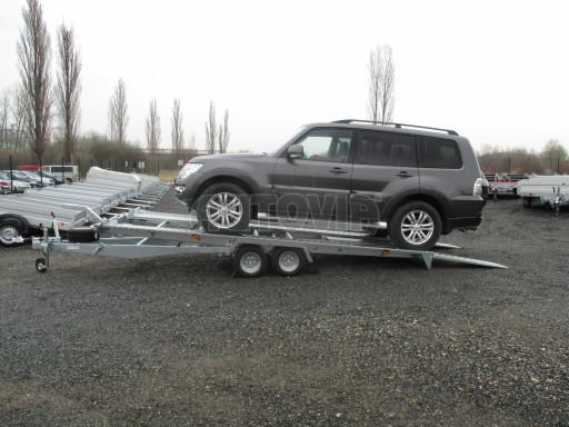 Sklápěcí přívěs pro přepravu aut KAR 47 3,0T 4,70 x 2,015 č.7