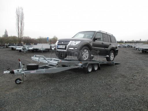 Sklápěcí přívěs pro přepravu aut KAR 47 3,0T 4,70 x 2,015 č.8