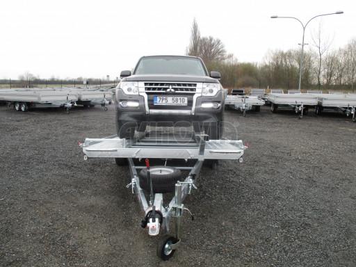 Sklápěcí přívěs pro přepravu aut KAR 47 3,0T 4,70 x 2,015 č.9