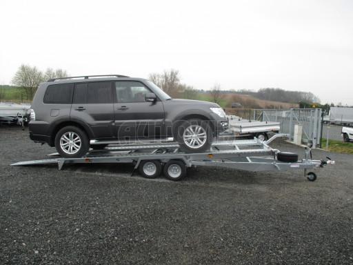 Sklápěcí přívěs pro přepravu aut KAR 47 3,0T 4,70 x 2,015 č.10