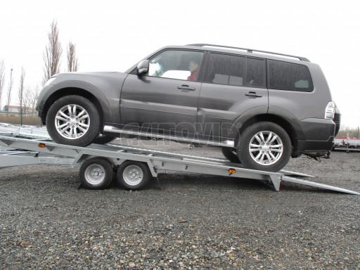 Sklápěcí přívěs pro přepravu aut KAR 47 3,0T 4,70 x 2,015 č.12