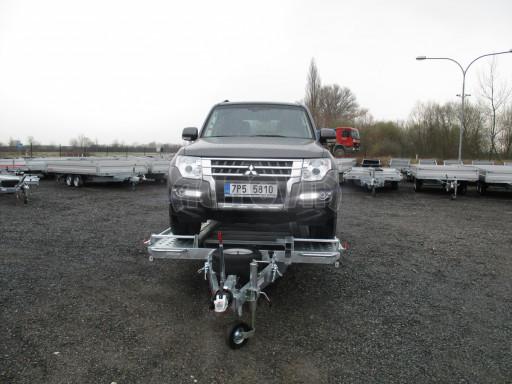 Sklápěcí přívěs pro přepravu aut KAR 47 3,0T 4,70 x 2,015 č.13