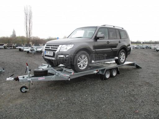 Sklápěcí přívěs pro přepravu aut KAR 47 3,0T 4,70 x 2,015 č.14