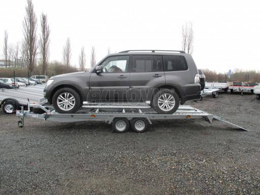 Sklápěcí přívěs pro přepravu aut KAR 47 3,0T 4,70 x 2,015 č.15