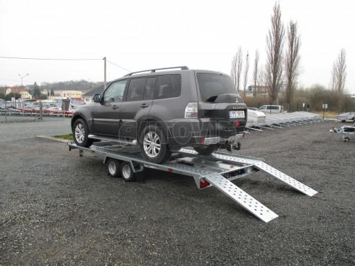 Sklápěcí přívěs pro přepravu aut KAR 47 3,0T 4,70 x 2,015 č.16