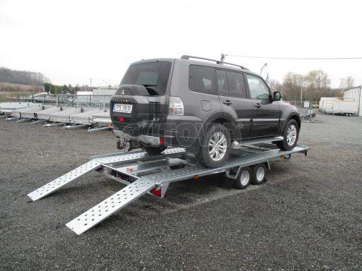 Sklápěcí přívěs pro přepravu aut KAR 47 3,0T 4,70 x 2,015 č.18