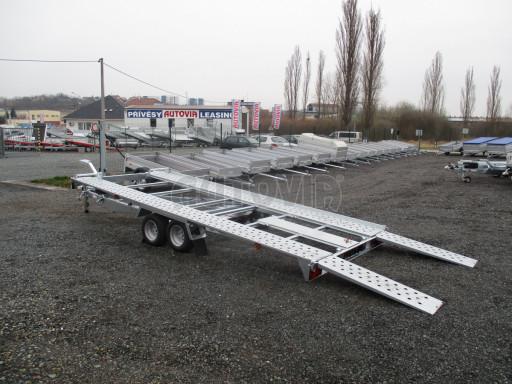 Sklápěcí přívěs pro přepravu aut KAR 47 3,0T 4,70 x 2,015 č.28