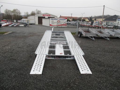Sklápěcí přívěs pro přepravu aut KAR 47 3,0T 4,70 x 2,015 č.29