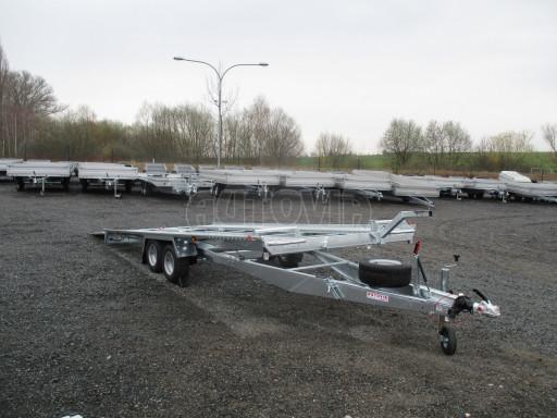 Sklápěcí přívěs pro přepravu aut KAR 47 3,0T 4,70 x 2,015 č.32