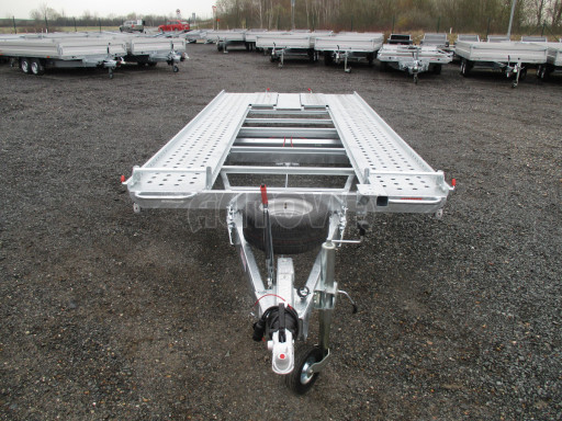 Sklápěcí přívěs pro přepravu aut KAR 47 3,0T 4,70 x 2,015 č.35