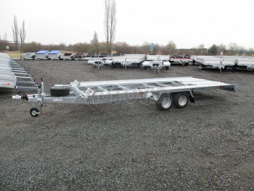 Sklápěcí přívěs pro přepravu aut KAR 47 3,0T 4,70 x 2,015 č.36