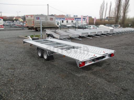 Sklápěcí přívěs pro přepravu aut KAR 47 3,0T 4,70 x 2,015 č.38