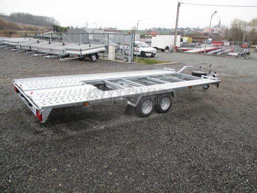 Sklápěcí přívěs pro přepravu aut KAR 47 3,0T 4,70 x 2,015 č.40