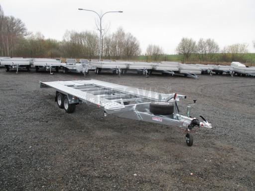 Sklápěcí přívěs pro přepravu aut KAR 47 3,0T 4,70 x 2,015 č.42