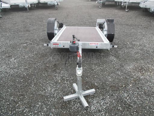 Jednoosý nebrzděný hydraulicky sklopný přívěs HS 750kg N1 2,55x1,26/0,10 ruč ECO č.19