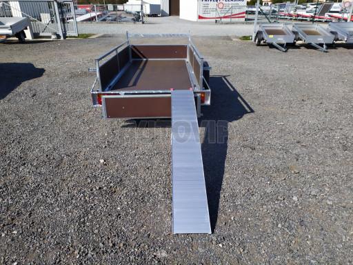 Alu skládací lamelový nájezd 206cm (680kg na pár) č.4