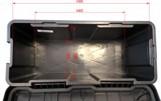 Bedna na nářadí Blackit II 550mm x 250mm x 294mm č.4