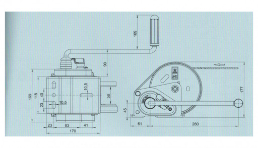 Naviják AL-KO 900 basic (compact) č.4