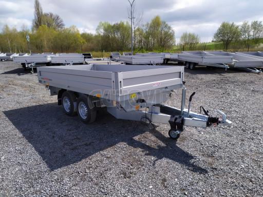 Sklápěcí přívěsný vozík ATS 3SKS 2,7T 3,32x1,70/0,35 ECO el** č.6