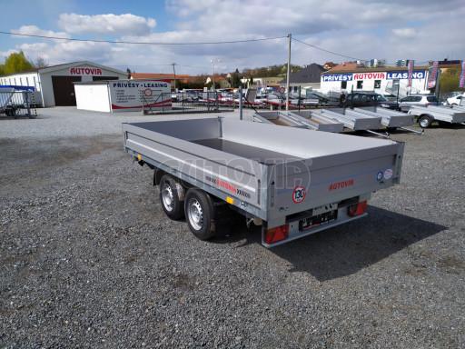 Sklápěcí přívěsný vozík ATS 3SKS 2,7T 3,32x1,70/0,35 ECO el** č.10