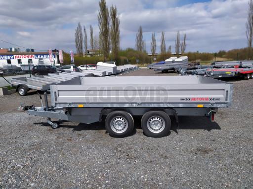 Sklápěcí přívěsný vozík ATS 3SKS 2,7T 3,32x1,70/0,35 ECO el** č.11