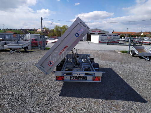 Sklápěcí přívěsný vozík ATS 3SKS 2,7T 3,32x1,70/0,35 ECO el** č.20