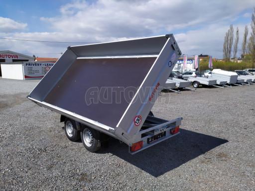 Sklápěcí přívěsný vozík ATS 3SKS 2,7T 3,32x1,70/0,35 ECO el** č.21