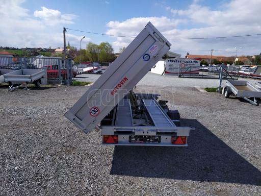 Sklápěcí přívěsný vozík ATS 3SKS 2,7T 3,32x1,70/0,35 ECO el** č.24