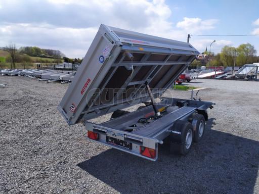 Sklápěcí přívěsný vozík ATS 3SKS 2,7T 3,32x1,70/0,35 ECO el** č.25