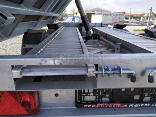 Sklápěcí přívěsný vozík ATS 3SKS 2,7T 3,32x1,70/0,35 ECO el** č.27