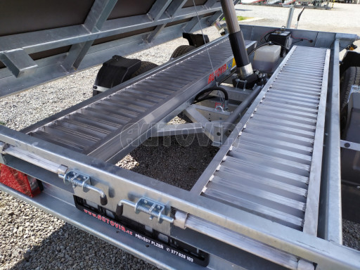 Sklápěcí přívěsný vozík ATS 3SKS 2,7T 3,32x1,70/0,35 ECO el** č.28