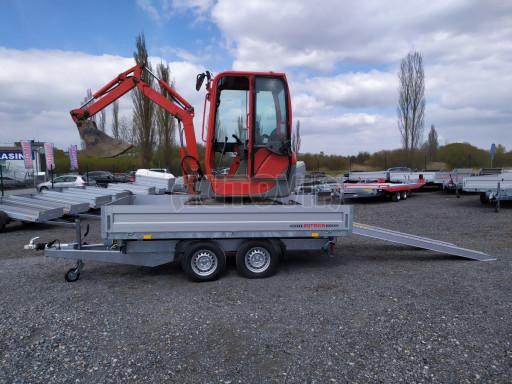 Sklápěcí přívěsný vozík ATS 3SKS 2,7T 3,32x1,70/0,35 ECO el** č.29