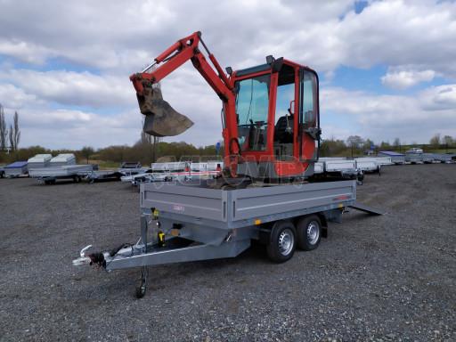 Sklápěcí přívěsný vozík ATS 3SKS 2,7T 3,32x1,70/0,35 ECO el** č.1